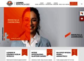 rekrutacja.lazarski.pl