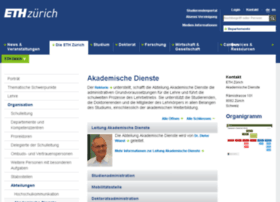 rektorat.ethz.ch