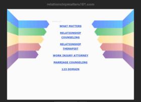 relationshipmatters101.com