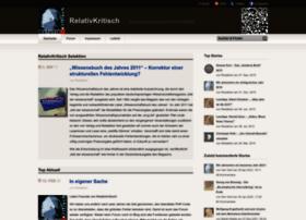 relativ-kritisch.net
