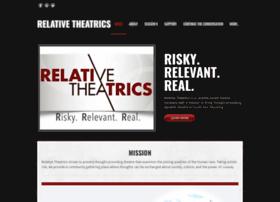 relativetheatrics.com