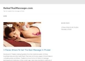 relaxthaimassage.com