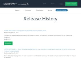releasehistory.sparkpay.com