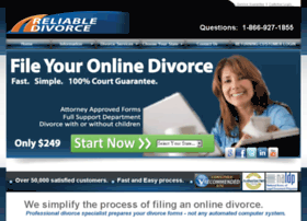 reliabledivorce.com