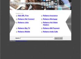 reliancecommunication.info