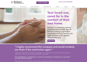reliancehomehealth.com