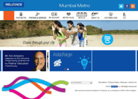 reliancemetro.co.in