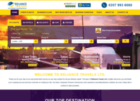 reliancetravels.co.uk