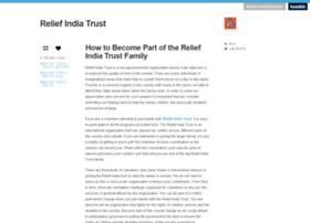 reliefindiatrust.tumblr.com