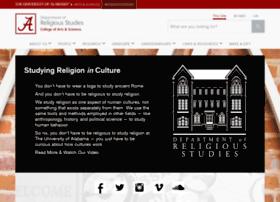 religion.ua.edu
