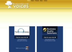 rememberedvoices.com