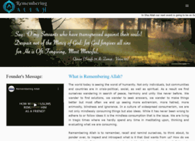 rememberingallah.com