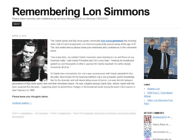 rememberinglonsimmons.mlblogs.com