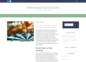 rememberingscotlandatwar.org.uk