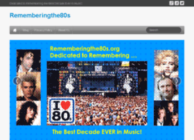 rememberingthe80s.org