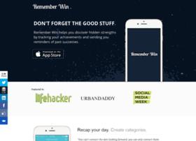 rememberwinapp.com