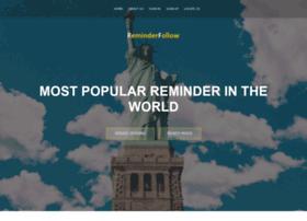 reminderfollow.com