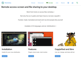 remmina.sourceforge.net