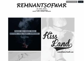 remnantsofwar.tumblr.com