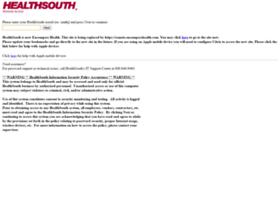 Remote.healthsouth.com