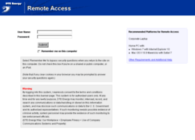 Remoteaccess.dteenergy.com