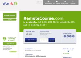 remotecourse.com