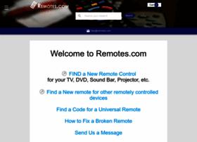 remotes.com