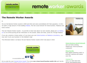 remoteworkerawards.com
