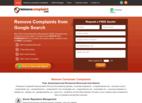 removecomplaint.com