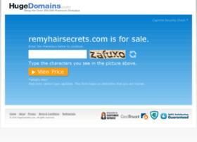remyhairsecrets.com