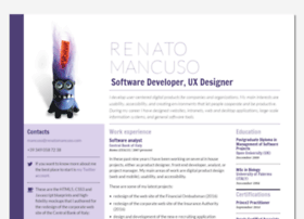 renatomancuso.com