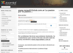 renault12club.com.ar