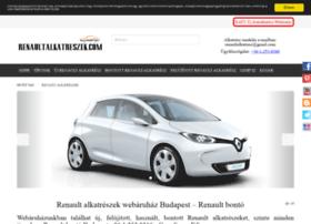 renaultalkatreszek.com