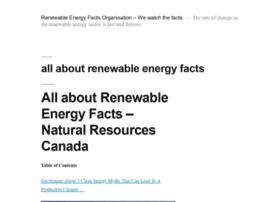 renewableenergyfacts.org