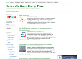 renewablegreenenergypower.com