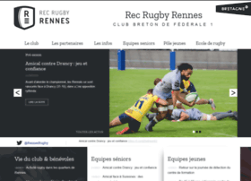 rennes-rugby.com