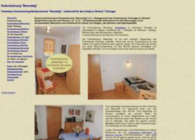 rennsteig.ferienhaus-ohrdruf.de