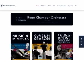 renochamberorchestra.org