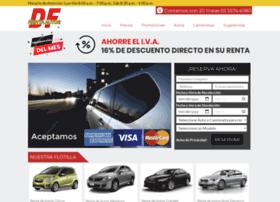 rentadeautosdf.com.mx