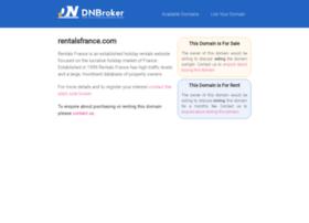 rentalsfrance.com