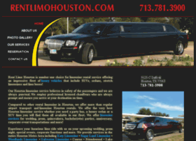 rentlimohouston.com