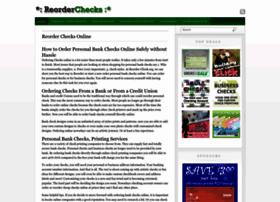 reorder-checks.org