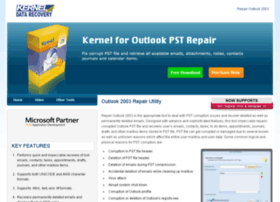 repairoutlook2003.com