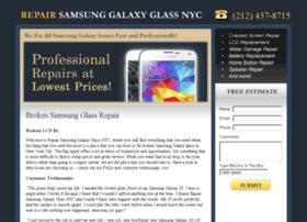 repairsamsunggalaxyglassnyc.com