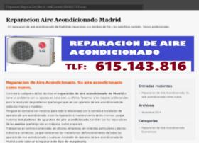 reparacionaireacondicionadomadrid.com