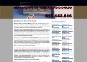 reparacionaireacondicionadomadrid.es