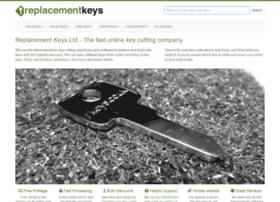 replacementkeys.co.uk