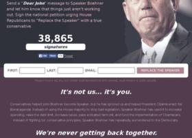 replacethespeaker.com