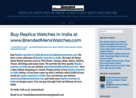replicawatchesinindia.wordpress.com