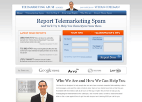 report-telemarketing-abuse.com